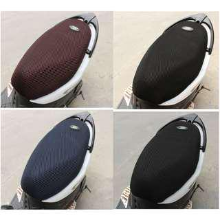 Motorcycle Seat Cover Cushion / Protector Insulation - Breathable Mesh