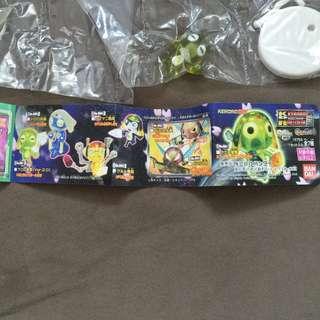 BANDAI KERORO 軍曹  扭蛋 玩具 透明版 一套7款(包平郵)