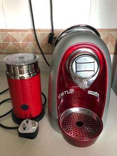 Coffee Maker & Nespresso Milk Frother bundle deal