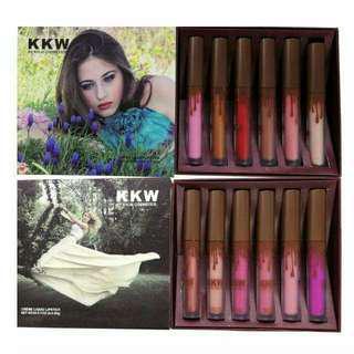 KKW Kylie 6in1 Cream Liquid Lipstick