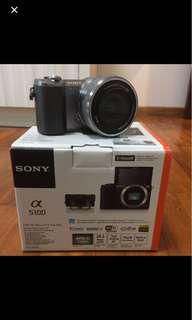 Sony Alpha A5100 Brown Camera with Kit Lens