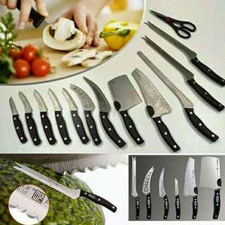 Miracle blade 13pcs Kitchen knife