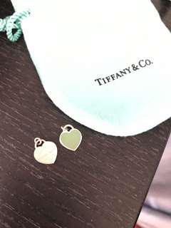 "Tiffany & Co. ""please return to Tiffany"" necklace pendent duo"