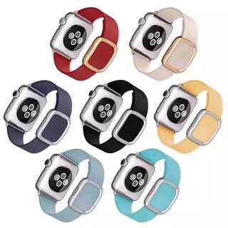 Strap buckle leather apple watch 38mm