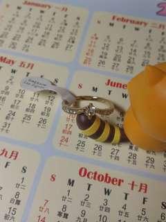 日本 Lattice 閃石介子 戒指