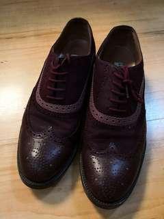 紳士鞋英倫風