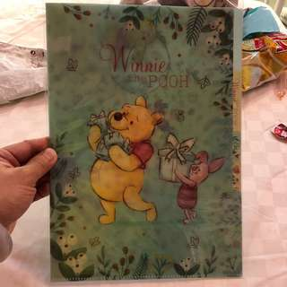 Winnie The Pooh With FDs 雙層File