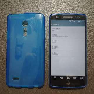 95%新 日版 LG G2 au isai L22 連 玻璃貼 保護套