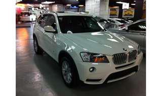 2013 BMW X3 XDRIVE28IA