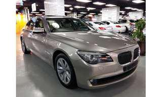 2011 BMW 750LIA VANTAGE