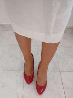Red Pumps | Size 8