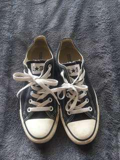 Black Ankle Converse S 7