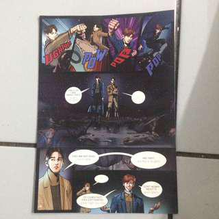 Comic page power exo