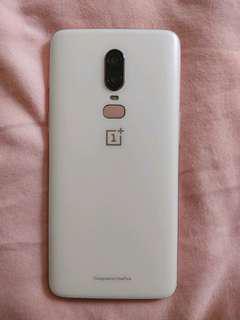 Silk White OnePlus 6