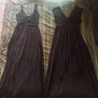 Floor Length Black Dresses