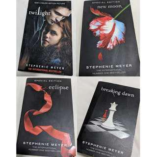 Twilight Saga Books ($5 each)