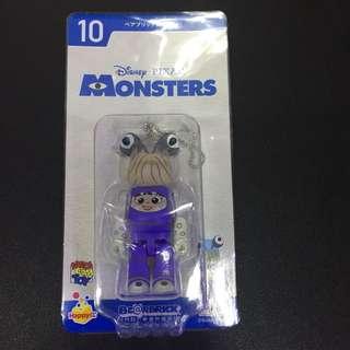 Medicom Toy x Pixar 2018 一番賞 Monsters monster 怪獸公司 no.10 Boo bearbrick be@rbrick