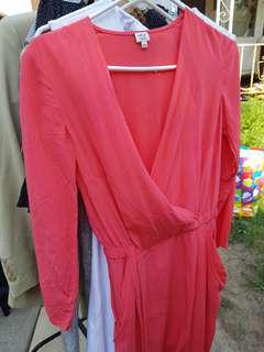 Coral Wilfred Dress (Xxs)