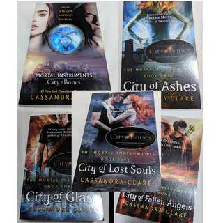 The Mortal Instruments (the full 5 books)
