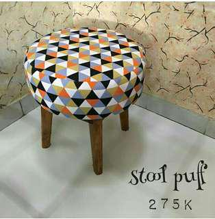 Stool puff