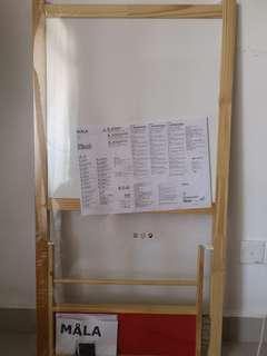 IKEA white & black board - Mala