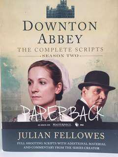 Downtown Abbey Books