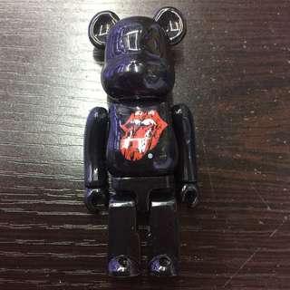 Medicom Toy Rolling stone 100% Bearbrick