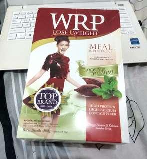 WRP Meal Replacement  Rasa Moka &  Teh Hijau Lose Weight Program