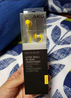 Promo! AKG Earpiece K323 XS YELLOW