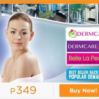 3 pcs. Dermcare Diamond Peel Metrodeal voucher October 15,2018 expiration