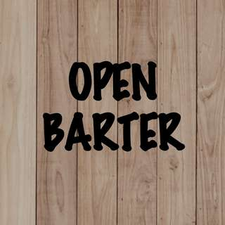 OPEN BARTER (NO ++ & JANGAN RIBET YA)