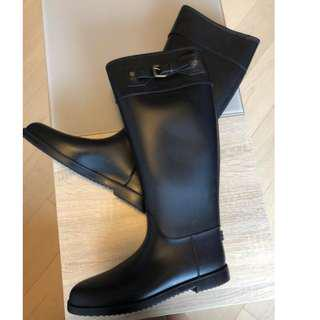 Brand new men's Burberry rain boots, 45
