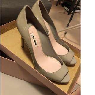 Brand new Miu Miu patent leather shoes, SZ EU36/UK3/US5
