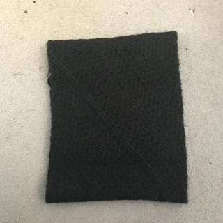 Black scarf/wrap from cotton on