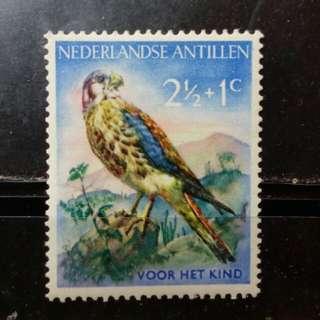 [lapyip1230] 荷屬安第列斯群島 1965年 彩色雀鳥 Mint