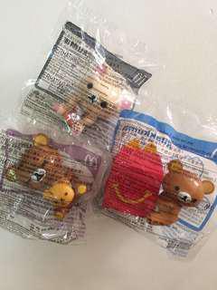 McDonald's Toys Rilakuma 3 in 1