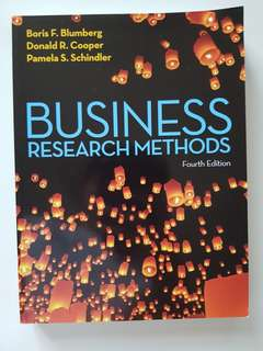 Business research methods textbooks carousell singapore business research methods fandeluxe Image collections