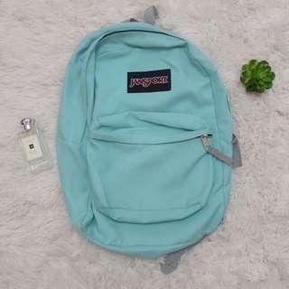 Jansport mint green bag