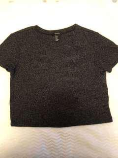 Brand new Crop top( size small)