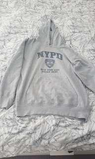 NYPD Hooded Jumper