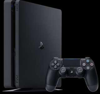 Playstation 4 Slim with Fifa 18
