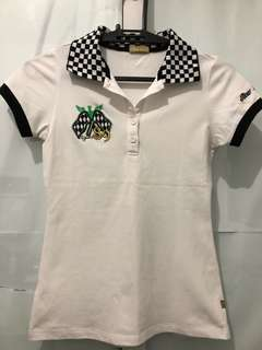 Cliffe White Polo Shirt