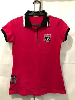 Cliffe Magenta Polo Shirt