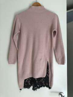women knit dress 6 & 8