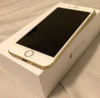 Unlocked iPhone 6, 64gb, Gold