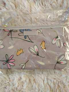 Make up bag and money pouch