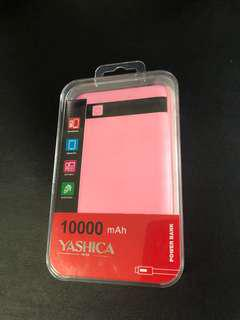 [NEW] Pink YASHICA 10000mAh Power Bank