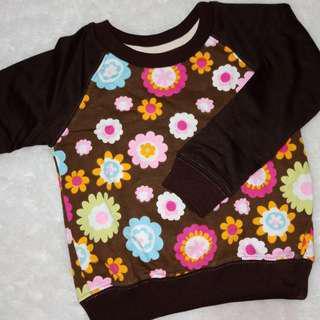 Sweater Flower Brown