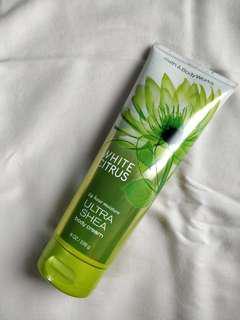 Bath & Body Works White Citrus Bodt Cream