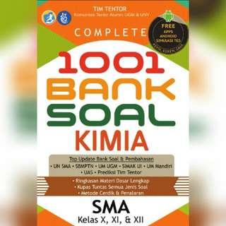 Ebook 1001 Bank Soal Kimia